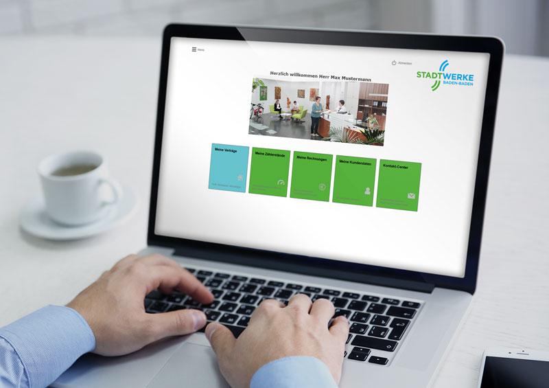 meldung unsere neue homepage ist online stadtwerke. Black Bedroom Furniture Sets. Home Design Ideas